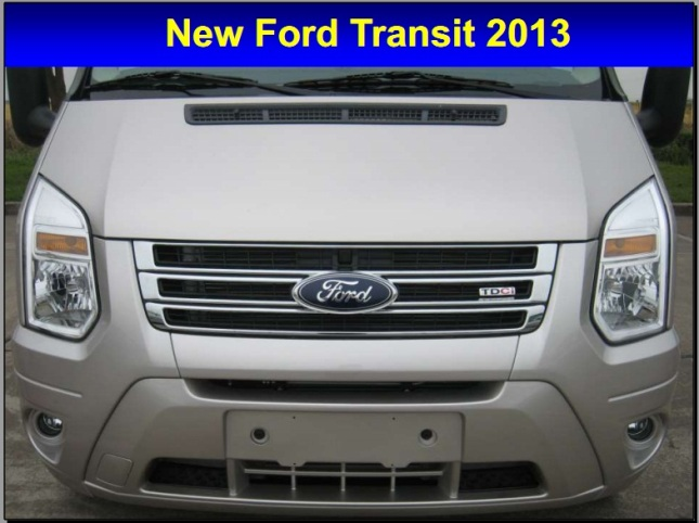 new ford transit 2013 - 1