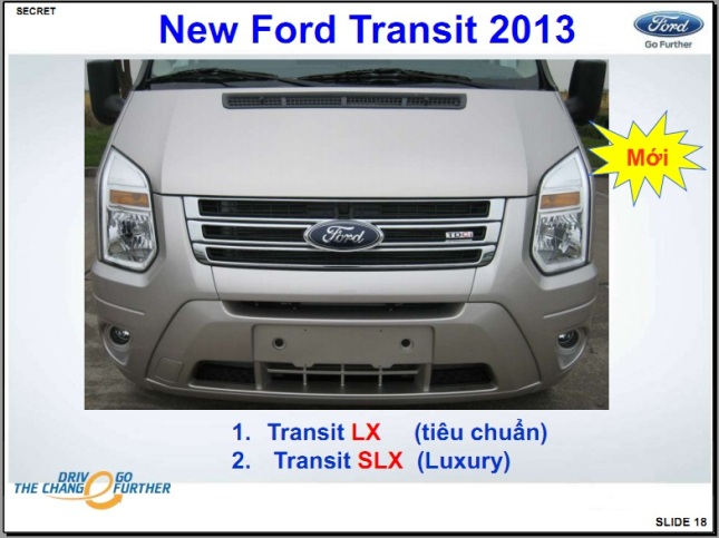 new ford transit 2013 - 18