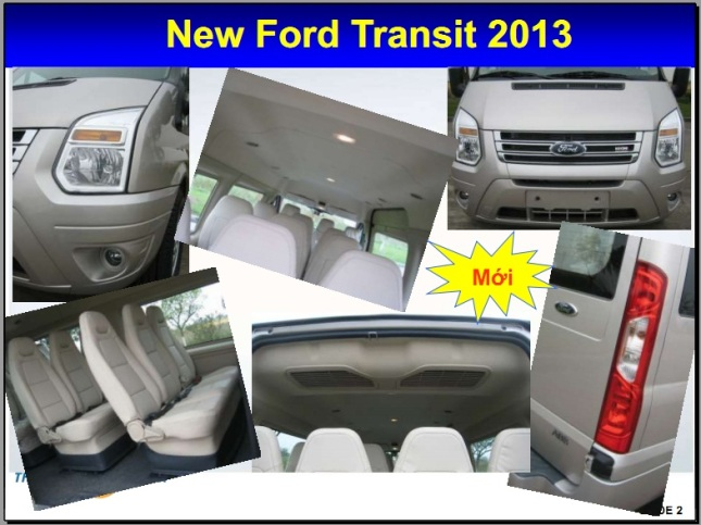 new ford transit 2013 - 2